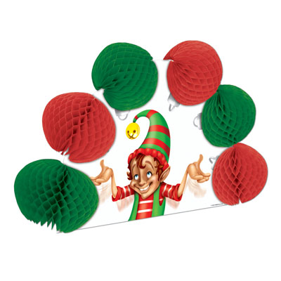 Elf Pop-Over Centerpiece 10in