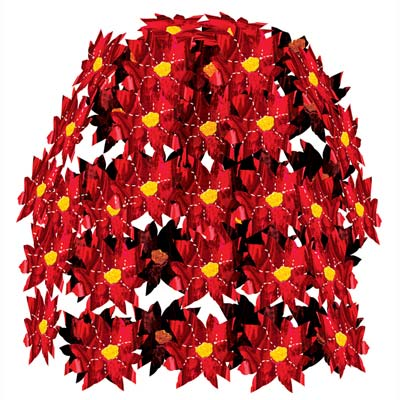 Poinsettia Cascade 24in