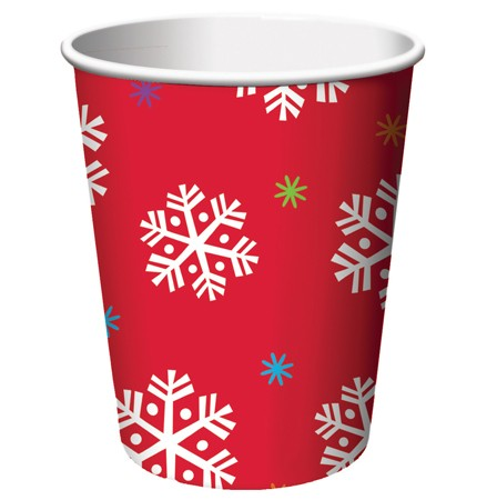 North Pole Greetings 9 Oz HotCold Cup