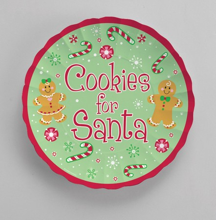 Cookies for Santa 11in Paper Tray