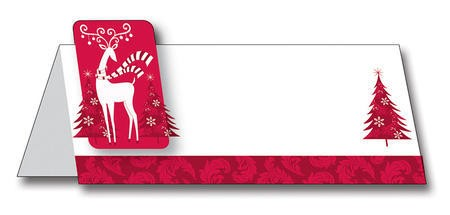 Dashing Prancer Placecards with Attachments