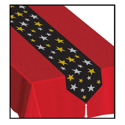 Printed Stars Table Runner 11in x 6ft