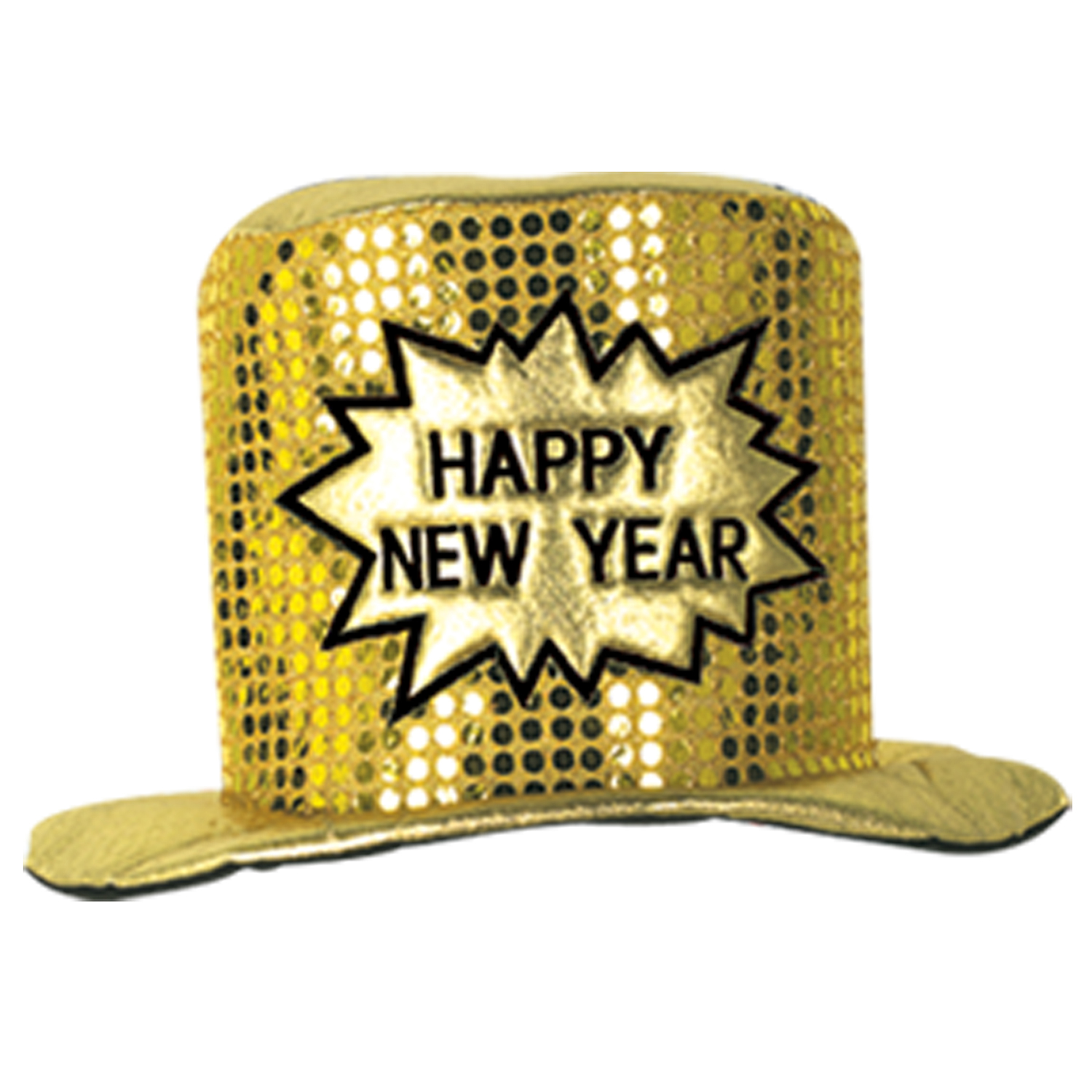 Glitz 'N Gleam HNY Top Hat gold