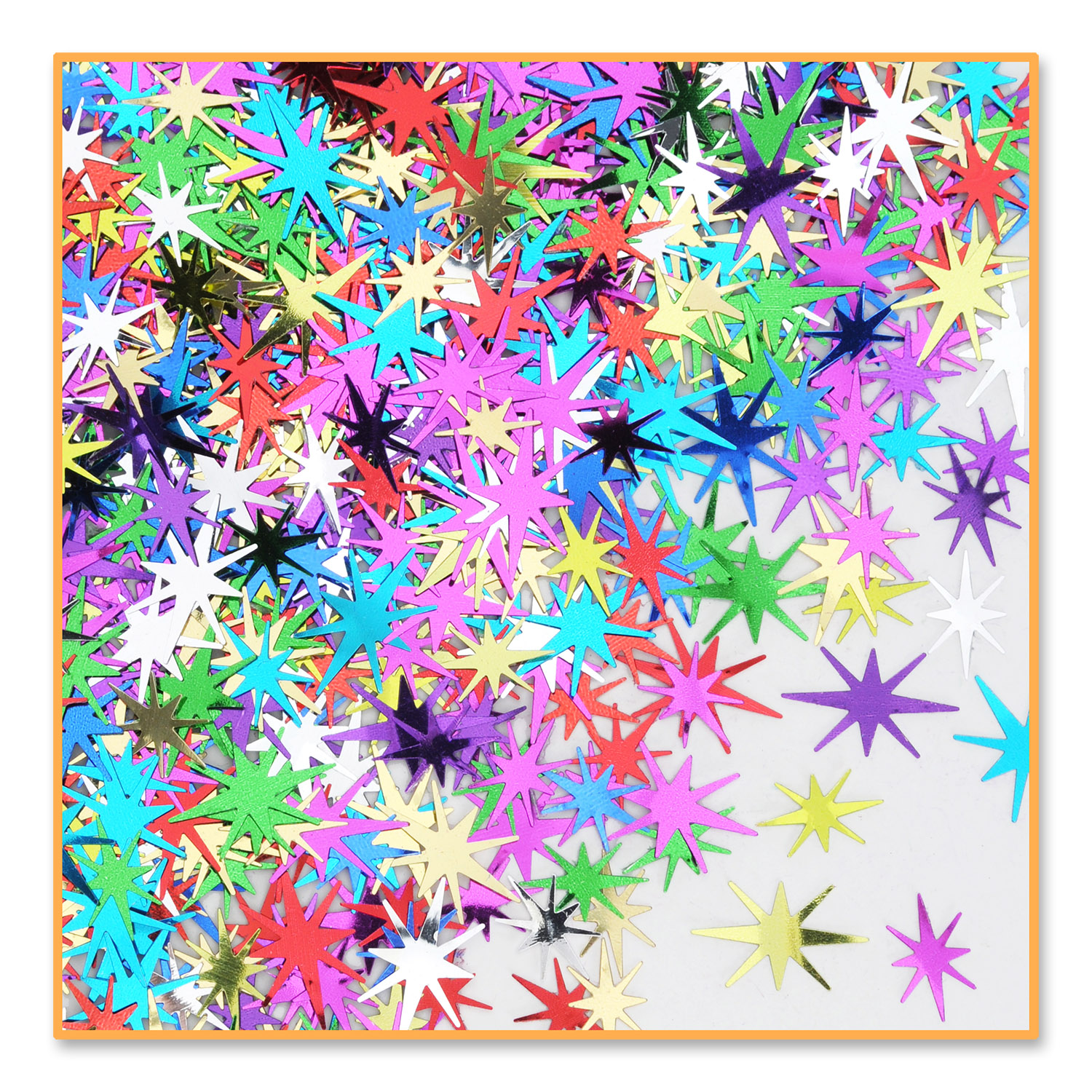 Multi-Color Starbursts Confetti .5oz