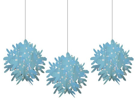 Snowflake Slice Hanging Decor