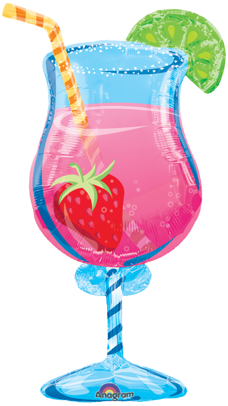 Tropical Cooler Shape Balloon- 35in