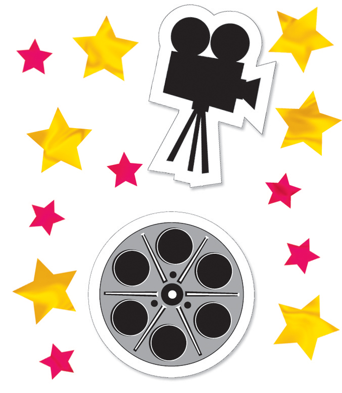 Reel Hollywood Printed Confetti