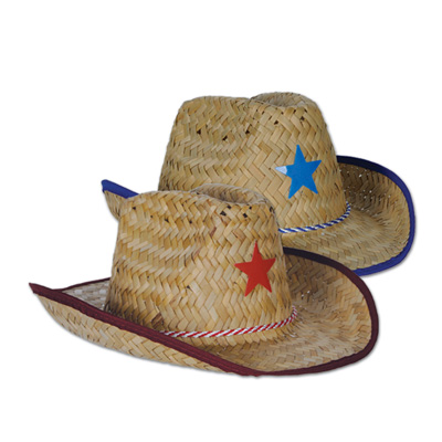 Child Cowboy Hats Star & Chin Strap