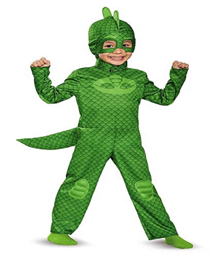 Disguise Gekko Classic Toddler PJ Masks Costume Large4-6