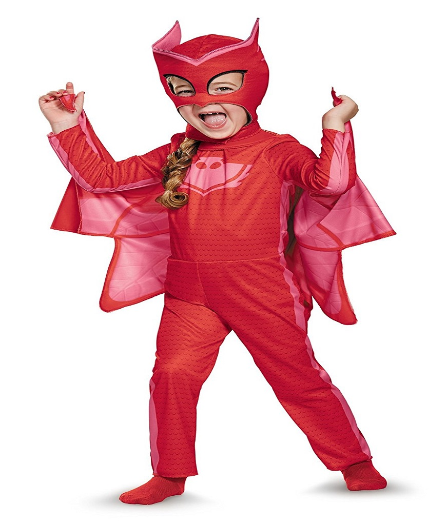 Disguise Owlette Classic Toddler PJ Masks Costume Medium3T-4T