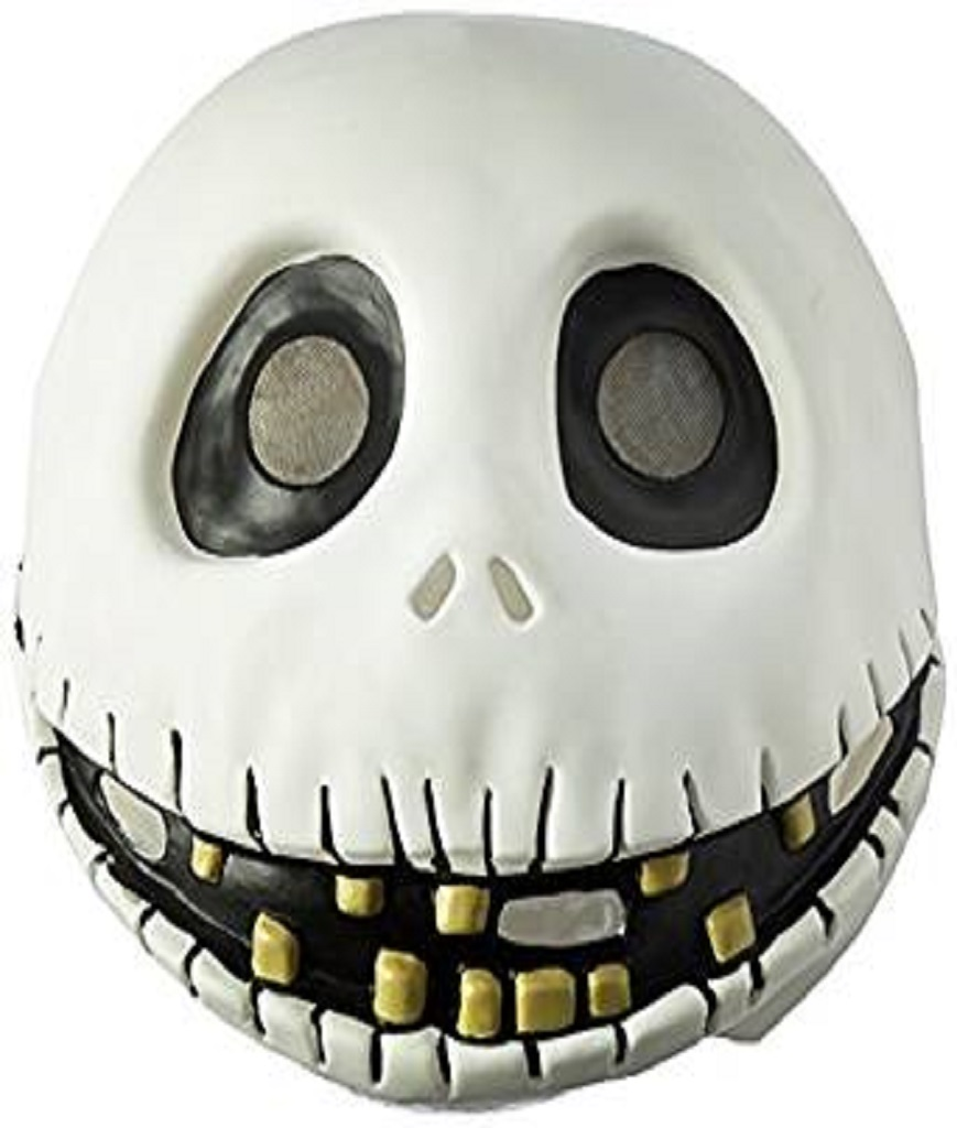 Disguise Men's The Nightmare Before Christmas Jack Skellington Mask One Size