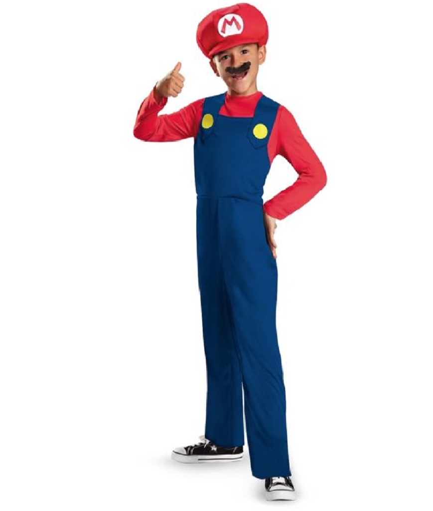 Disguise Nintendo Super Mario Brothers Mario Classic Boys Costume Small4-6