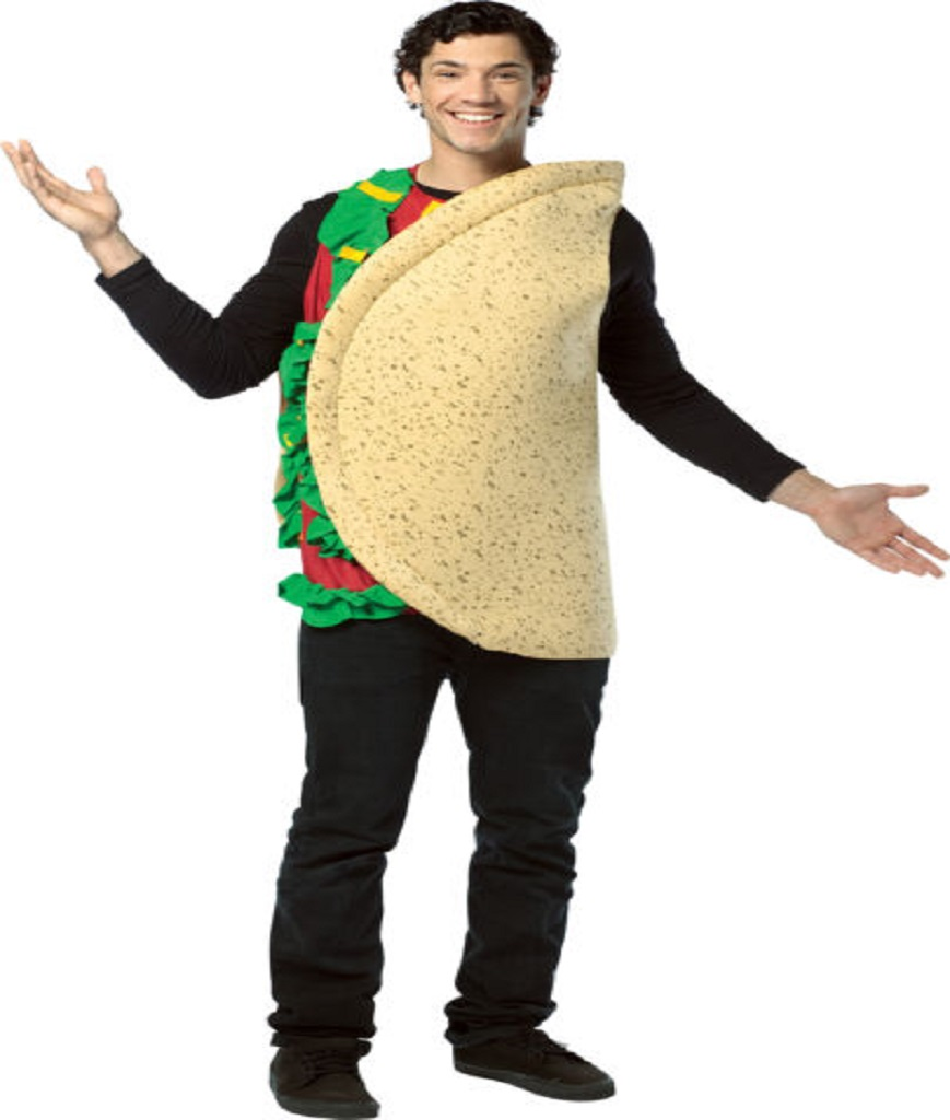 Rasta Imposta Lightweight Taco Costume Multi-Colored One Size