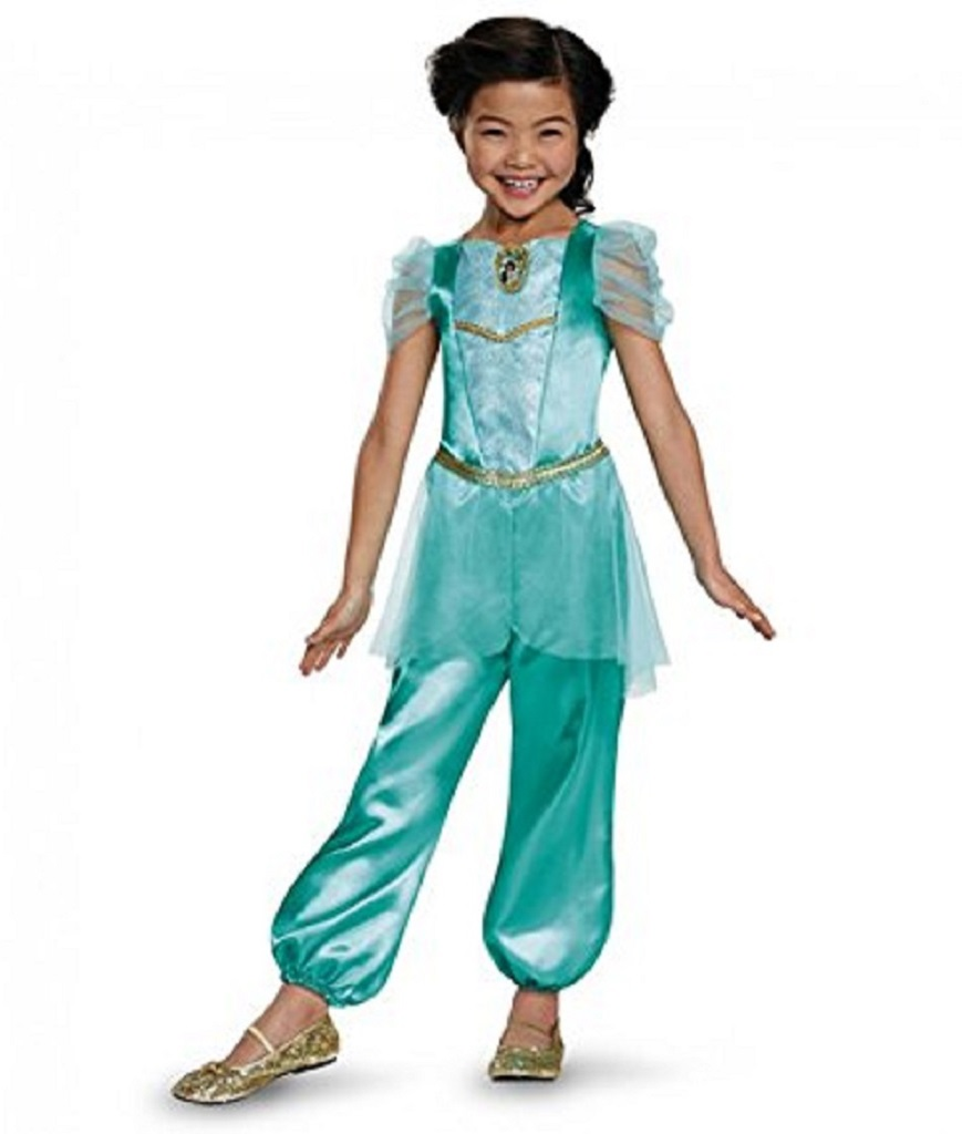 Disguise Jasmine Classic Disney Princess Aladdin Costume One Color Small4-6X