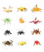2 to 3 Inch Authentic Insects - Assorted 144ct