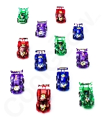 Pull Back Racer Cars - Assorted 12ct