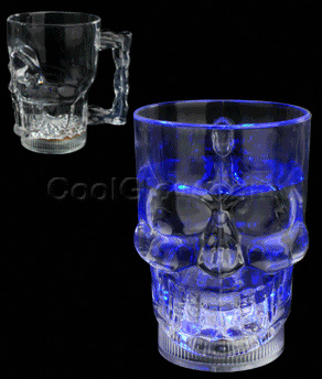 LED 20oz Skull Mug - Multicolor