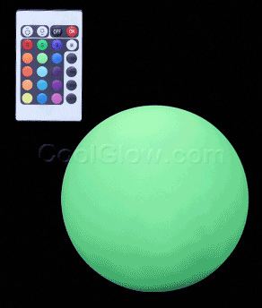 Fun Central C207 LED Light Up Waterproof Ball Mood Light - 8 Inch
