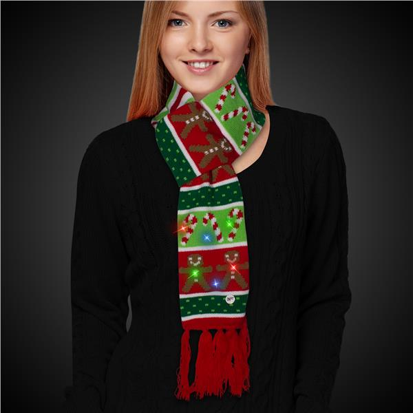 GINGERBREADCANDYCANE - SCARF