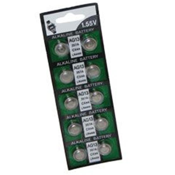 AG13 Button Economy Battery 10 Pcs