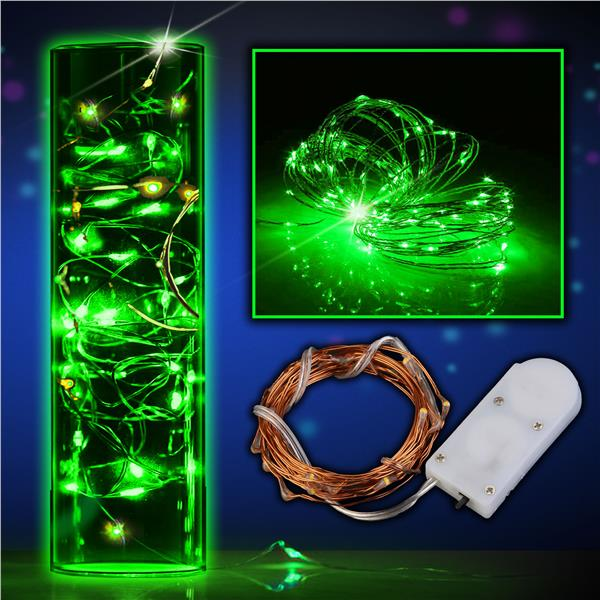 6CT-COPPER WIRE-20 GREEN LED