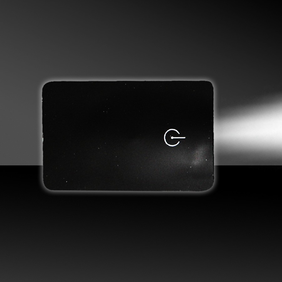 BLACK CREDIT CARD LIGHT
