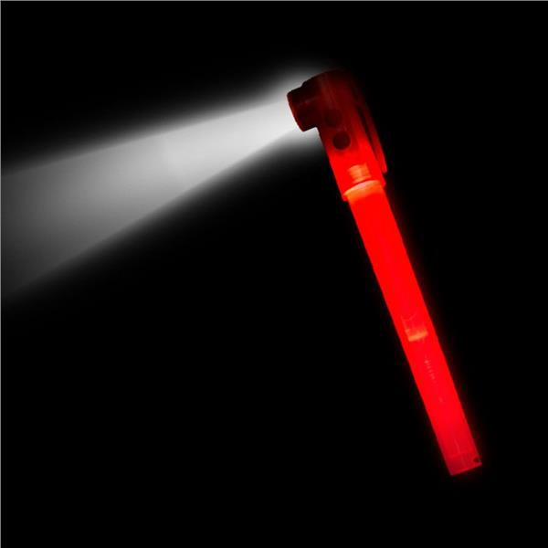 RED LED SAFETY STIX WWHISTLE