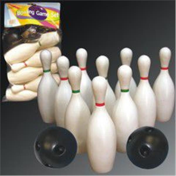 BOWLING SET - 6 INCH PINS W BALL