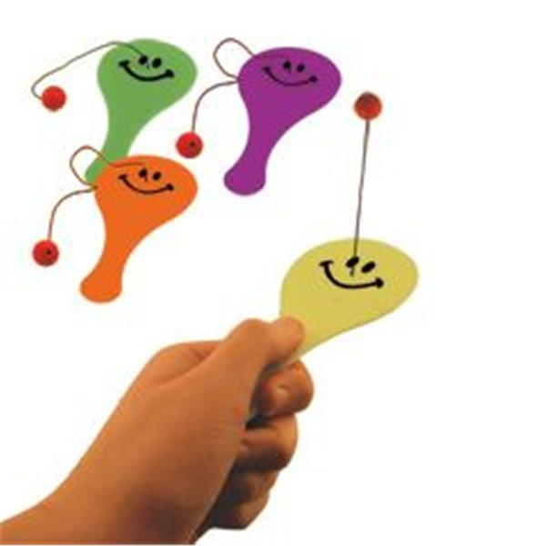 4.5 INCH MINI SMILE PADDLE GAMES