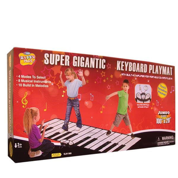 100 INCH X 29 INCH SUPER KEYBOARD PLAYMAT