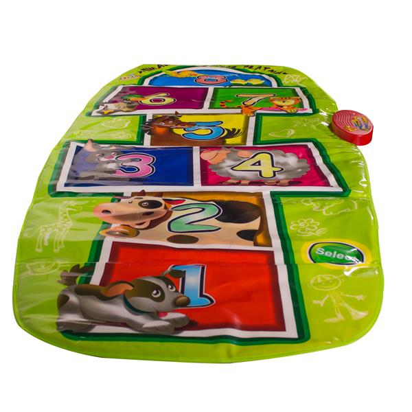 71 INCH X 33 INCH ANIMAL HOPSCOTCH PLAYMAT