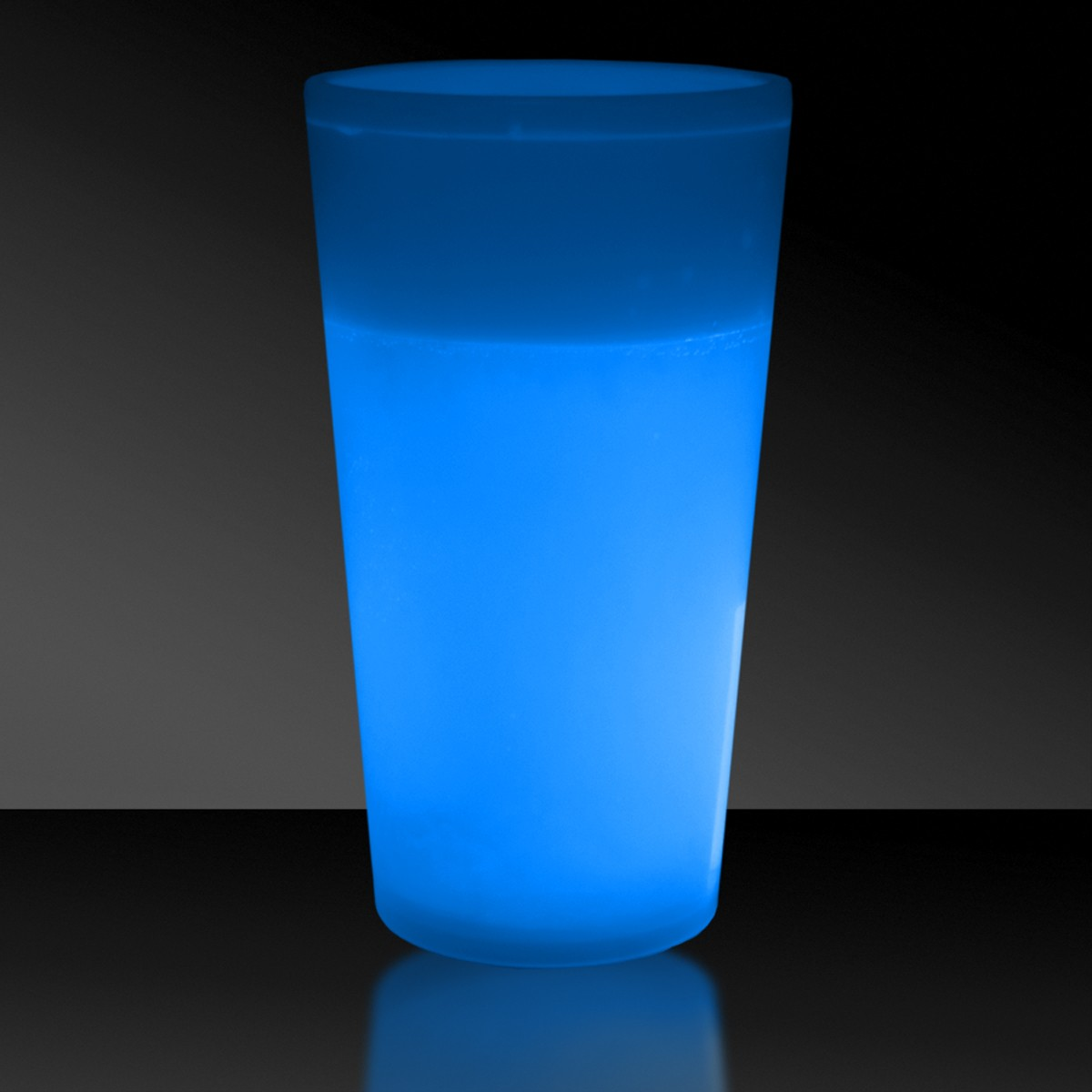 NEW - 12 OZ. BLUE GLOW CUP