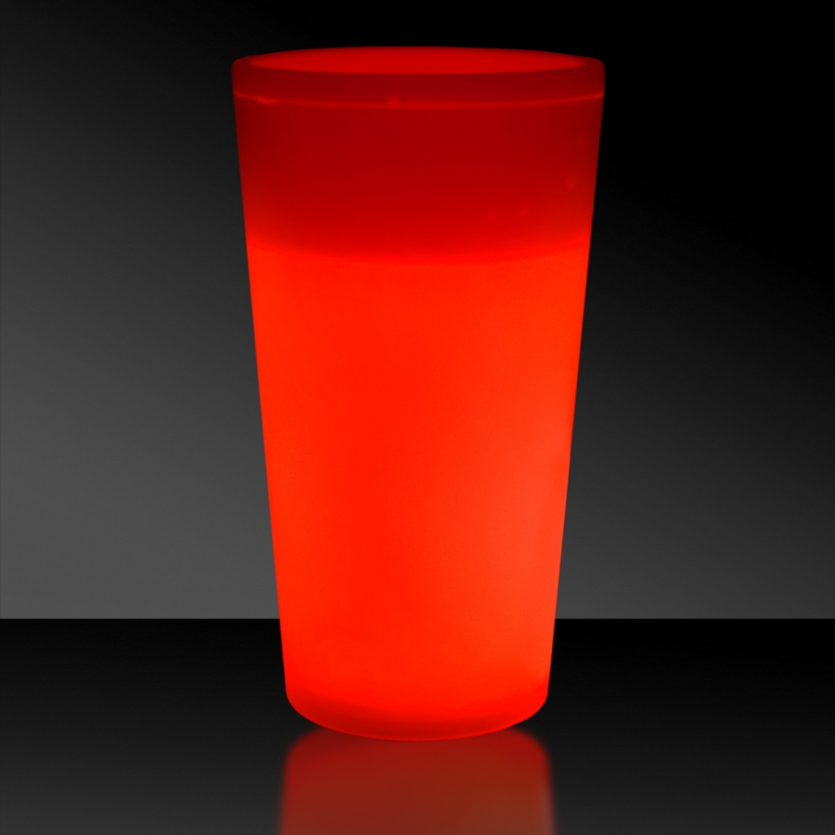 NEW - 12 OZ. RED GLOW CUP