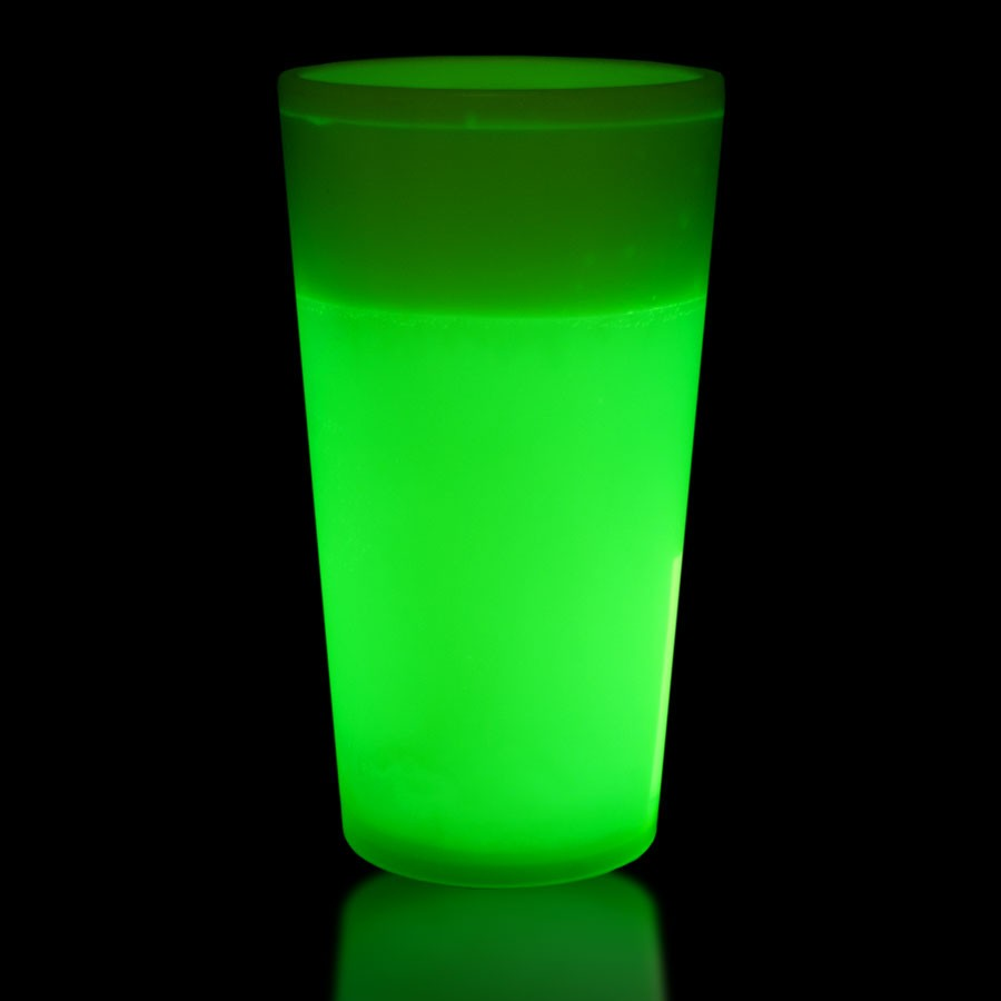 NEW - 16OZ GREEN GLOW CUP