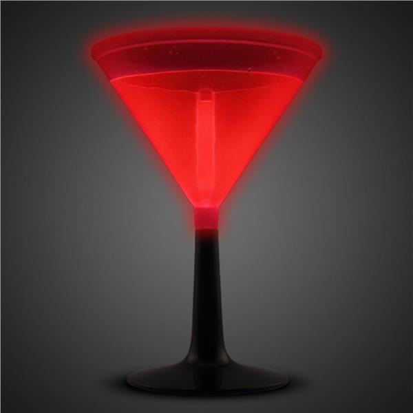 RED - GLOW MARTINI CUP