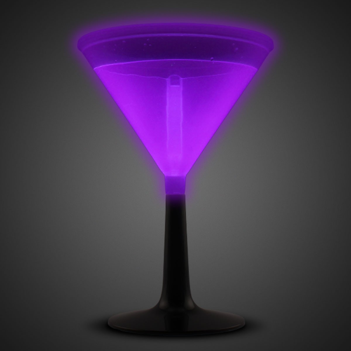 PURPLE - GLOW MARTINI CUP