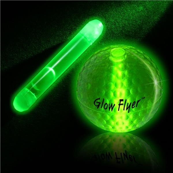GREEN STICK FOR GLOW GOLF BALL