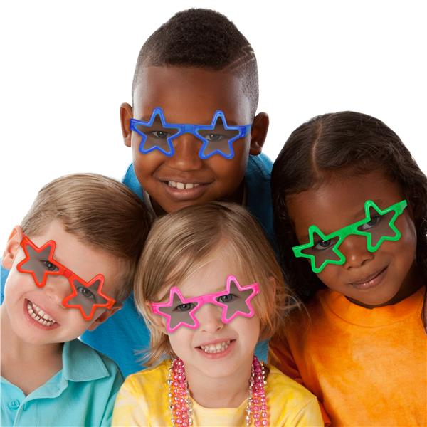 5 INCH CHILDREN'S STAR SUNGLASSES
