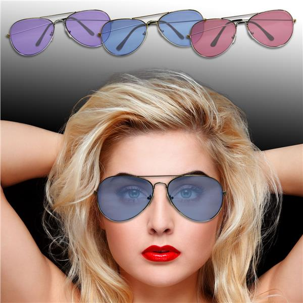 AVIATOR GLASSES - WCOLORED