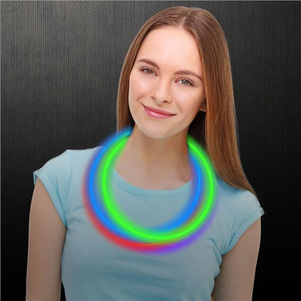 22 Inch L 6mm Variety Pack Supreme Glow in the Dark Necklaces