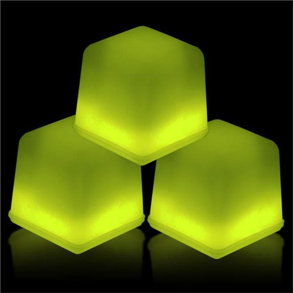 GLOW ICE CUBE - YELLOW