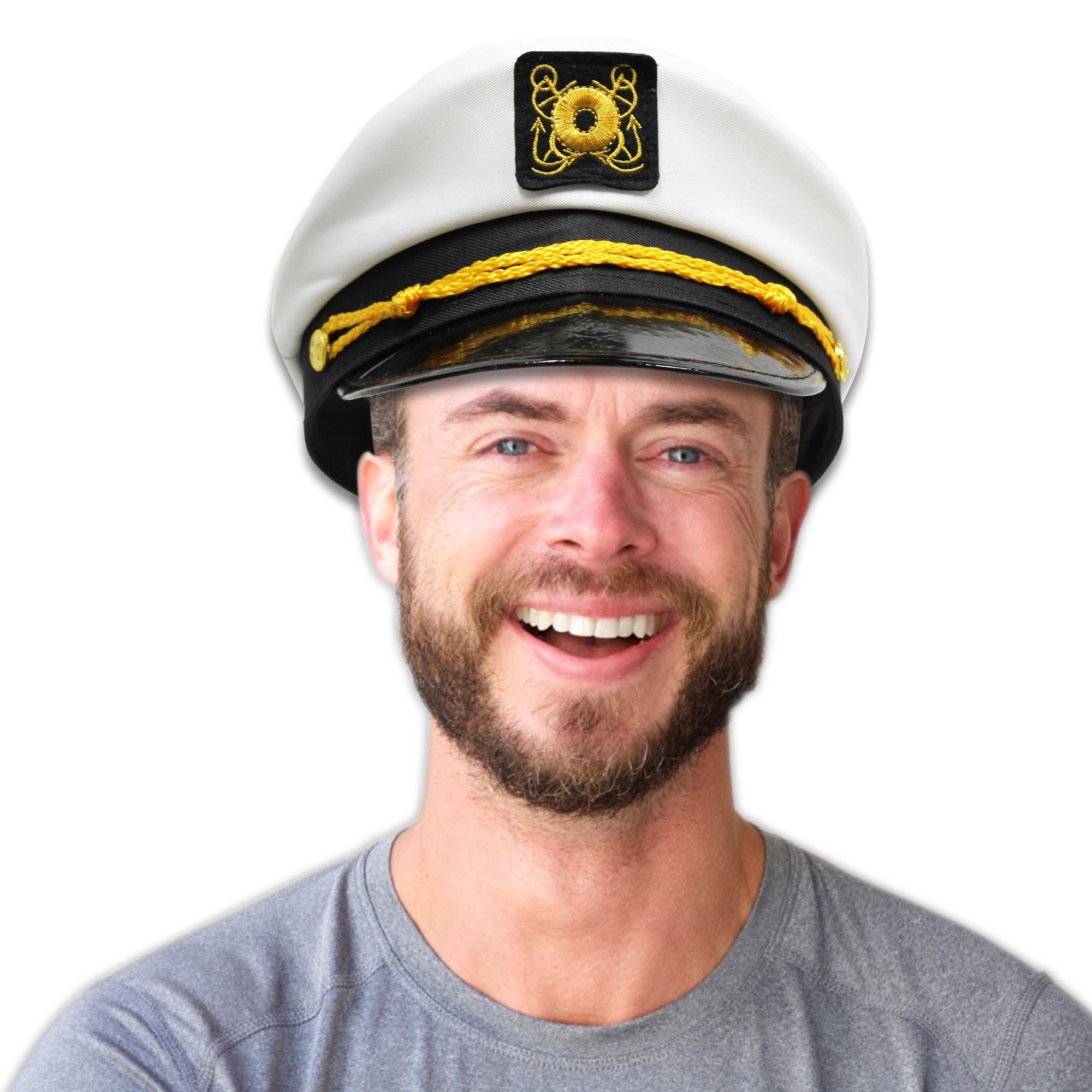 WHITE YACHT CAP