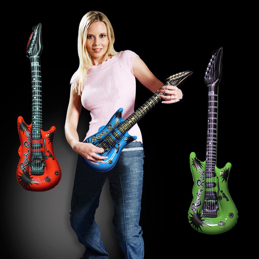 22 Guitar Asst. Inflate