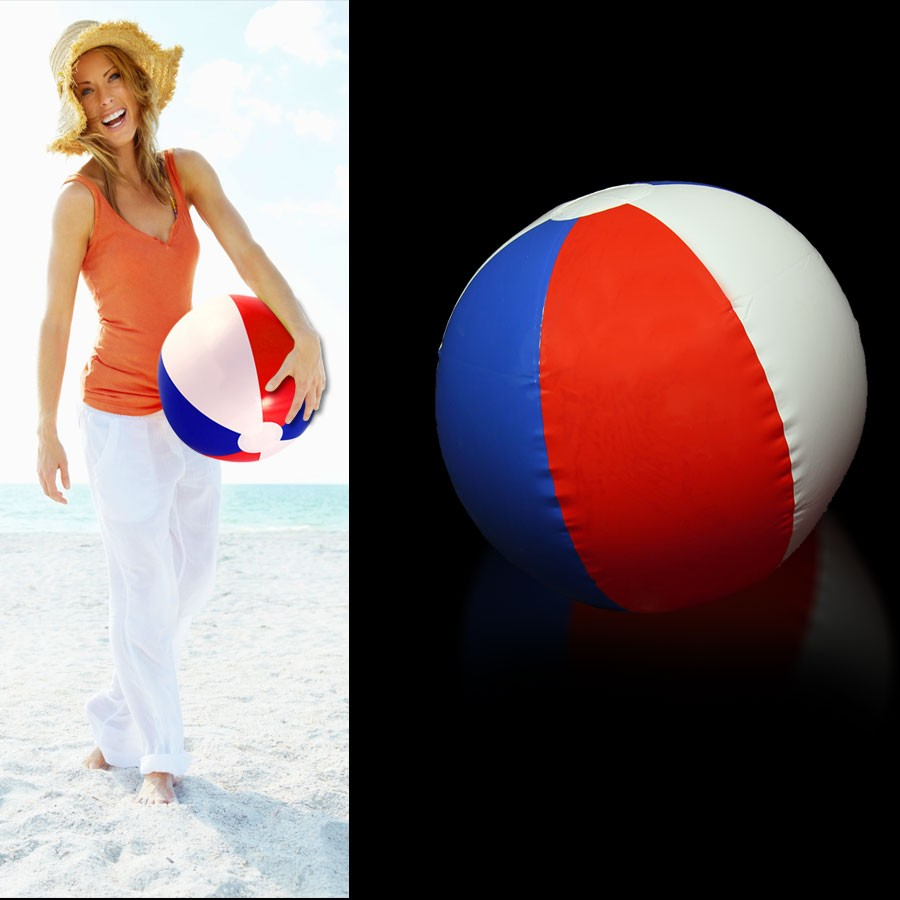 16 INCH PATRIOTIC BEACHBALL