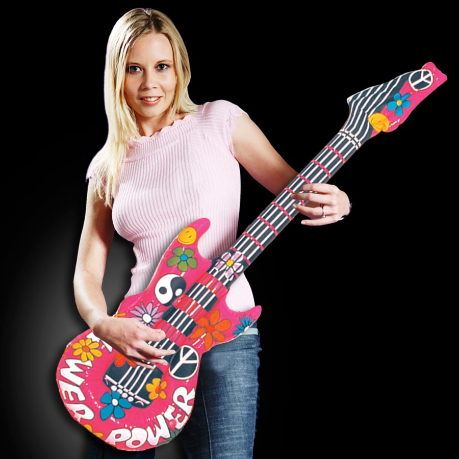 42 INCH GROOVY GUITAR INFLATE