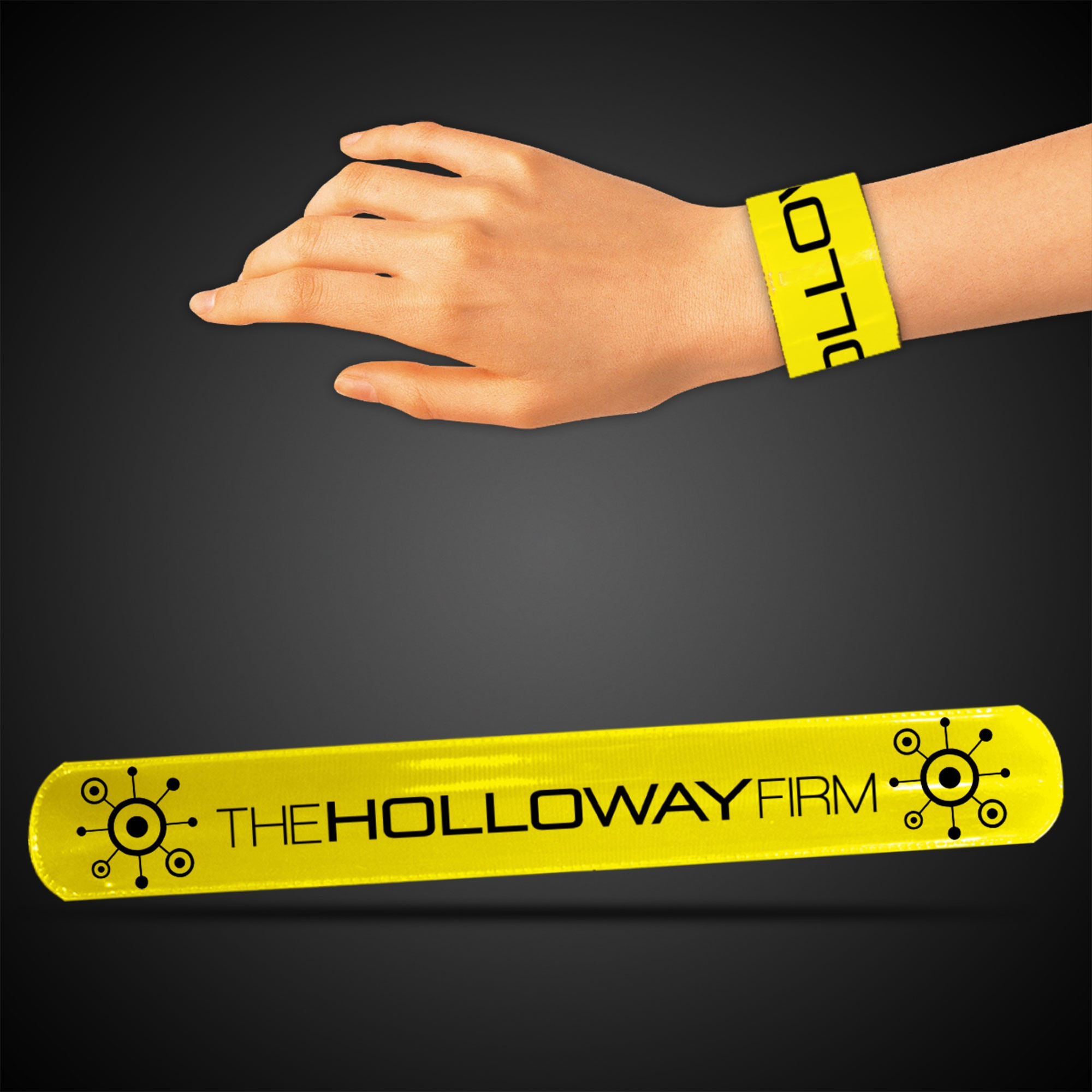 YELLOW SLAP BRACELET