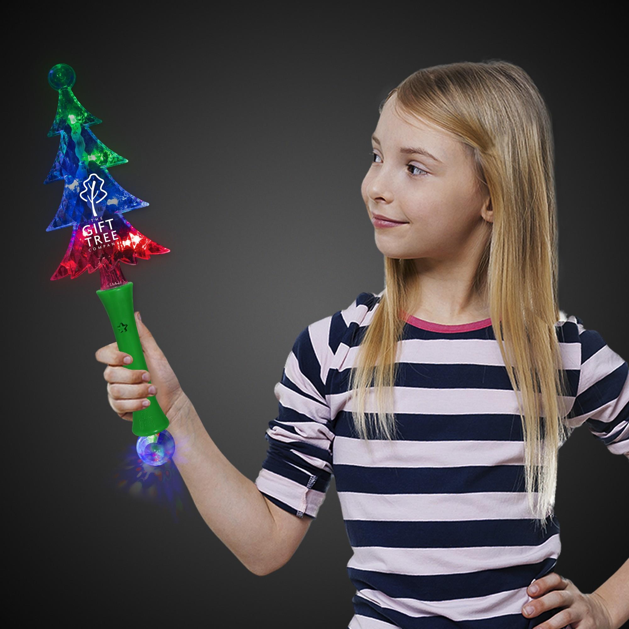 CHRISTMAS TREE LU WAND WBALL