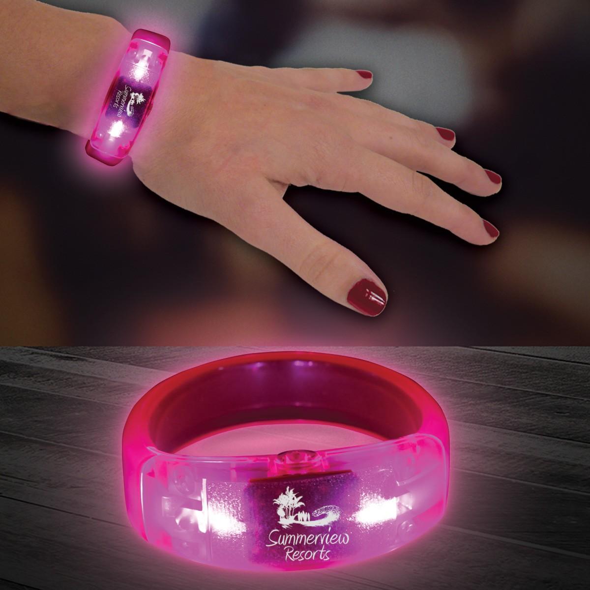 PINK - LED BRACELET