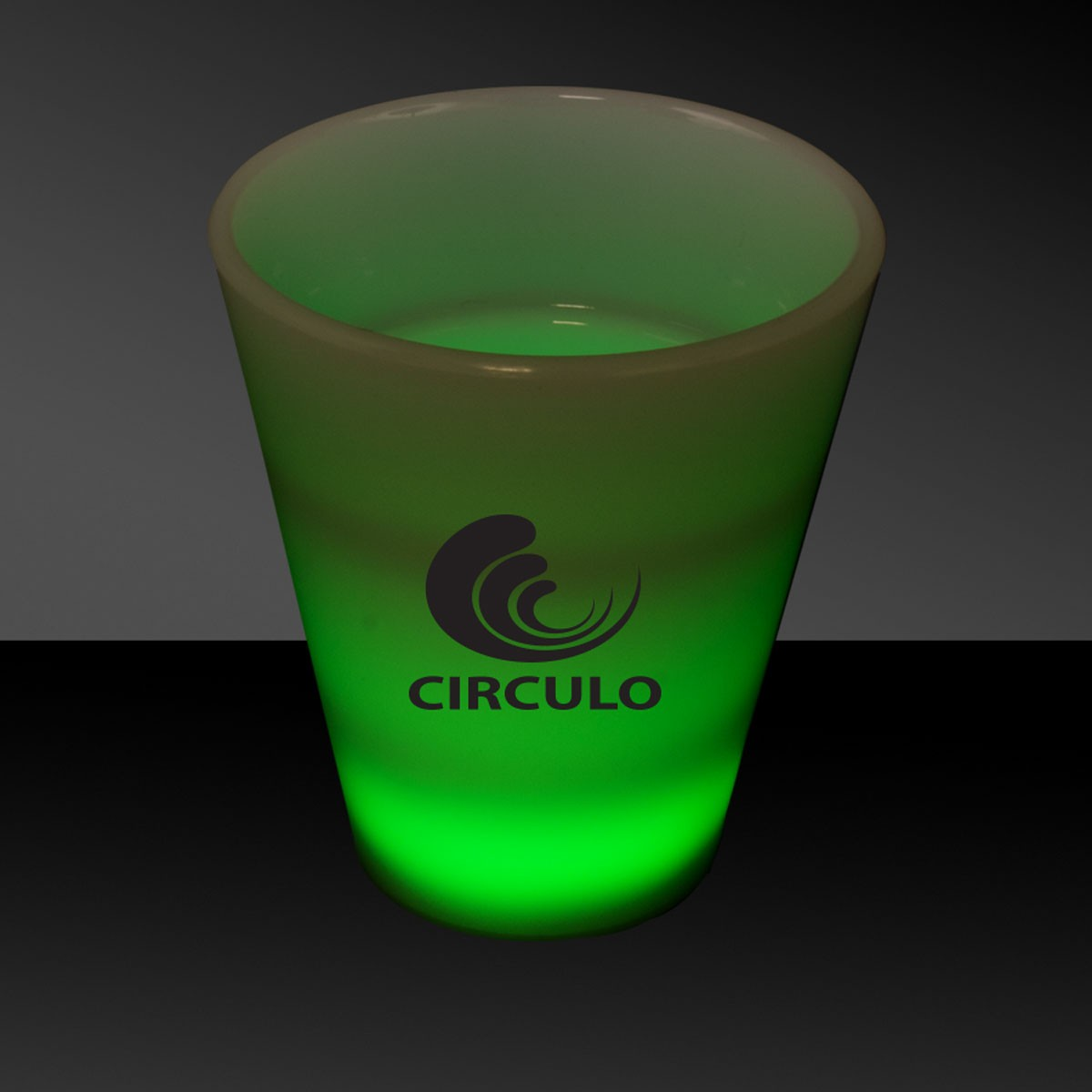 JADE 2OZ.NEON LOOK SHOT GLASS