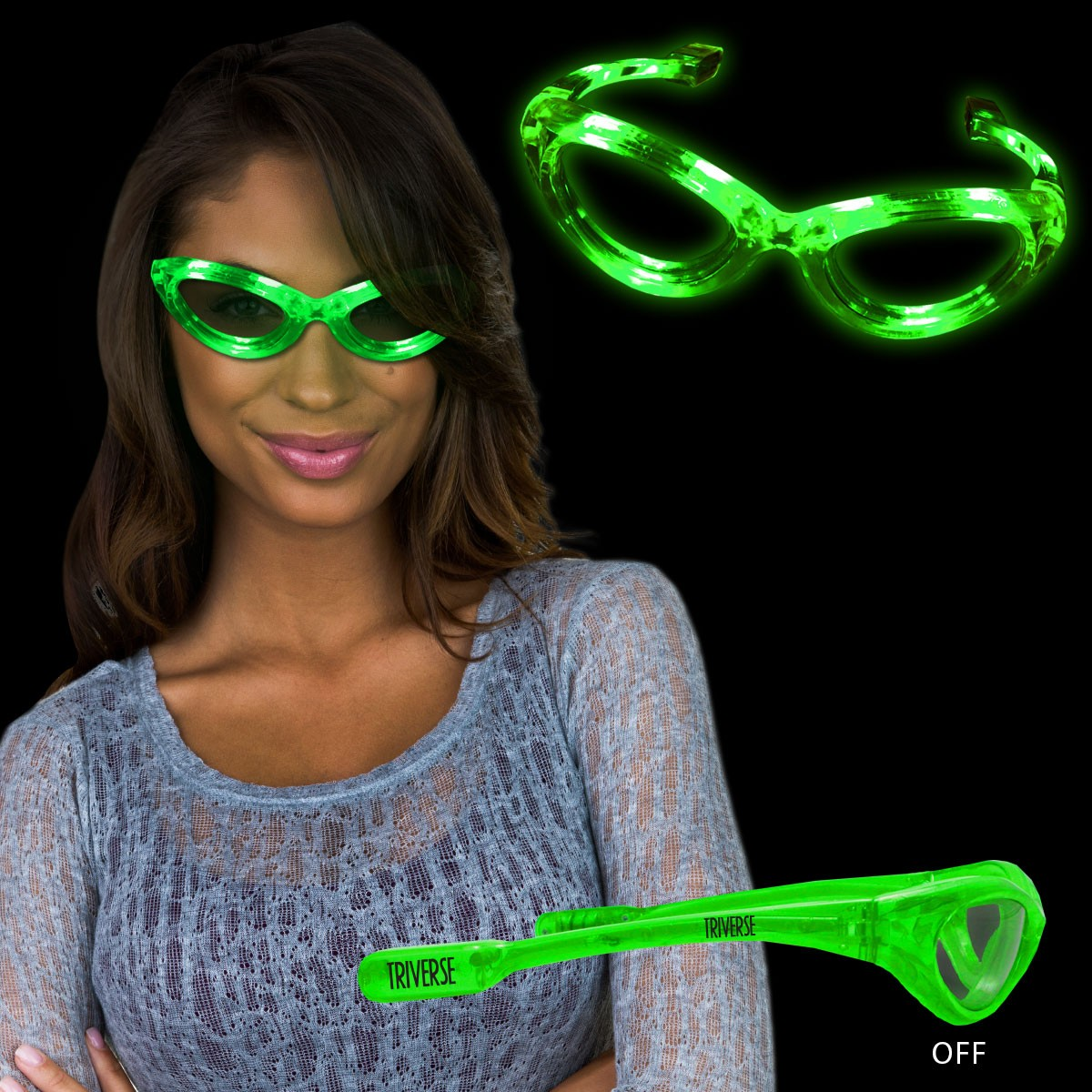 JADE LED SUNGLASSES